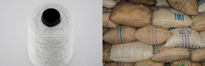 Hilo para la fabricación de sacos industriales
