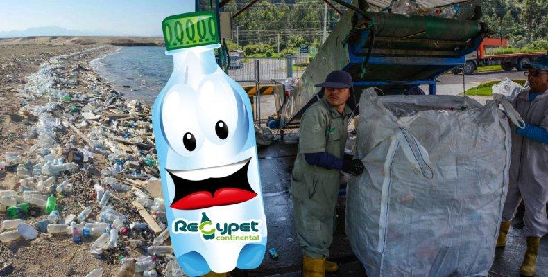 contaminacion d ebotellas plasticas