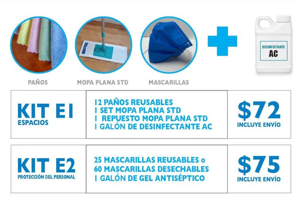productos de microlimpia para prevenir el coronavirus