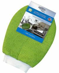 Guante manopla de microfibra para limpieza