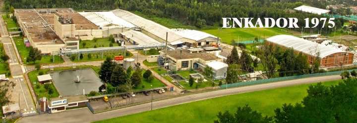 La empresa textil Enkador en sus inicios