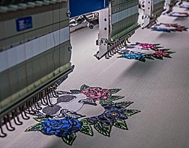 Hilo para bordado industrial textil
